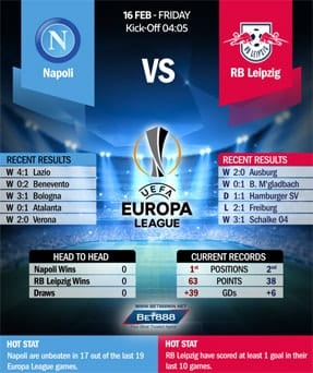 Napoli vs RB Leipzig