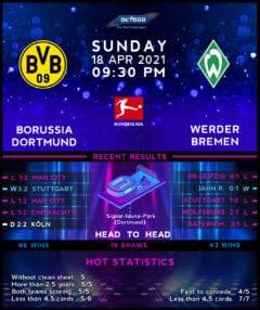 Borussia Dortmund vs Werder Bremen