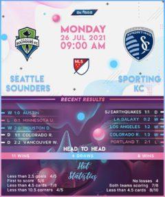Seattle Sounders vs  Sporting Kansas City