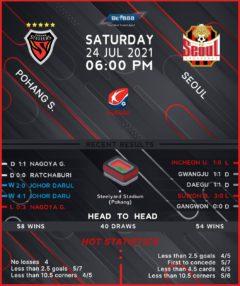 Pohang Steelers vs  Seoul