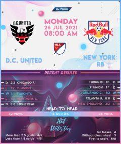 D.C. United vs  New York RB