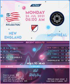 New England vs  Montreal