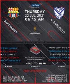 Barcelona vs  Velez Sarsfield